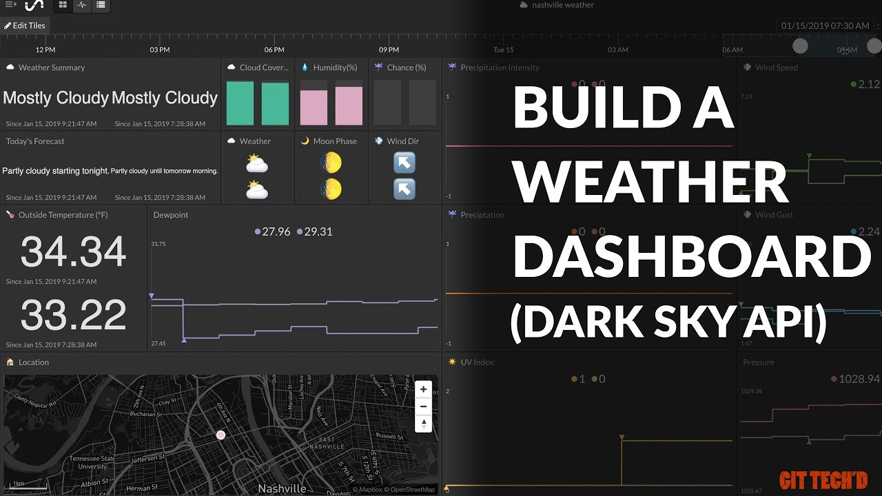 Build a Weather Dashboard Using Dark Sky API: 5 Steps (with