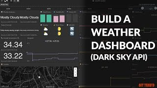 Make a Weather Dashboard with Dark Sky API | GIT TECH'D