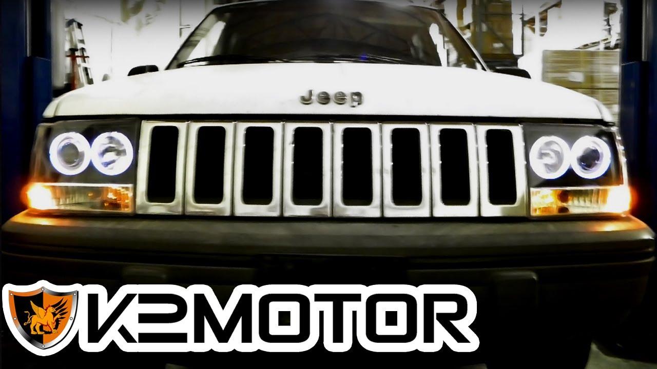k2 motor installation video: 1993 - 1998 jeep grand cherokee 1pc
