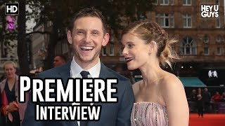 Jamie Bell | Film Stars Don't Die in Liverpool Premiere Interviews | LFF 2017