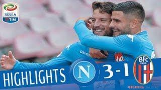 Napoli - Bologna 3-1 - Highlights - Giornata 22 - Serie A TIM 2017/18