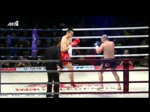 Mike Zambidis vs Xu Yan «Hero Legend» (World Kick boxing) Ant1 {4/1/2014}