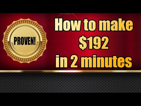 High Volatility Trading EURUSD - How to make $192 in 2 min.