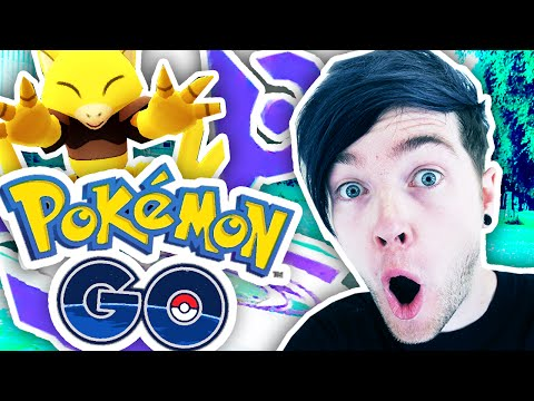 POKEMON GO GYM GLITCH!!