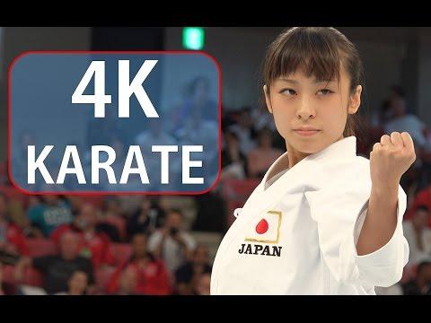 ため息が出るほど美しい空手 Beautiful Karate, Ayano Takaki (2014 WORLD CUP・Shooting in 4K video)