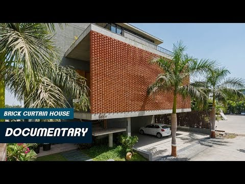Brick Curtain House | Architectural Documentary