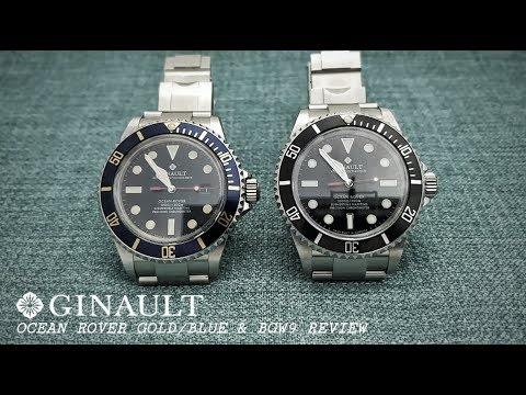 Ginault Ocean Rover Review - New Versions of the Ultimate Mil-Sub Homage