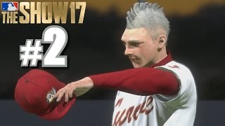 THROWING 100 MPH IN AA DEBUT! | MLB The Show 17 | Road to the Show #2