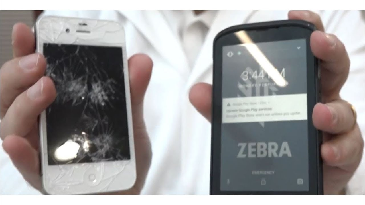 Zebra TC25 Rugged Smartphone for harsh environments, perfect for Couriers  and Tradesman