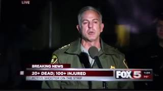 Chief of Police Press Conference Las Vegas shooting