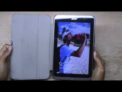 IVSO Slim Smart Cover Case for the Acer Iconia W4