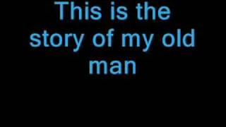 Good Charlotte Story Of My Old Man Lyrics