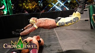 Rey Mysterio proves he hasn't lost a step as he battles The Miz for...