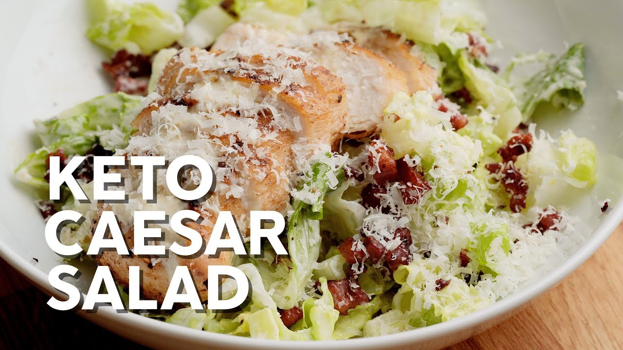 Caesar Salad Recipe Keto