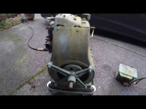Powermaster 1500 Watt Generator 2117, Briggs & Stratton Model Z, circa 1936