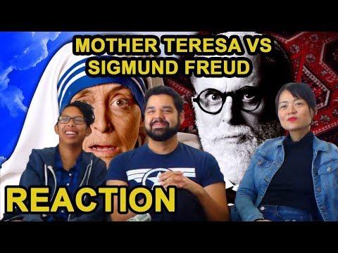 Mother Teresa vs Sigmund Freud – ERB Season 6 Reaction – Awkward Mafia Watches