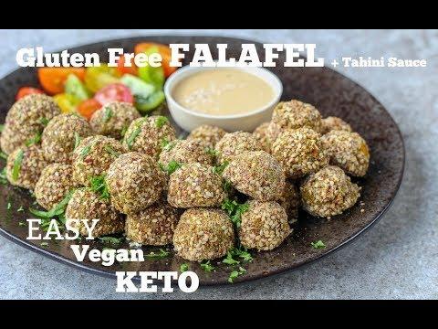New Keto Recipe: Butternut Squash Falafel with Lemon Tahini Sauce (Gluten Free!)