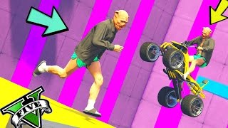 GTA 5 ONLINE 🐷 LTS 🐷N*100🐷 PARKOUR VS TUTTO !!! 🐷 GTA 5 ITA 🐷 DAJE !!!!!!!