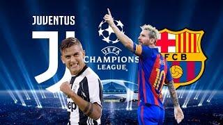 JUVENTUS VS FC BARCELONA EN CHAMPIONS | FIFA 18 CARRERA MANAGER FC BARCELONA #7