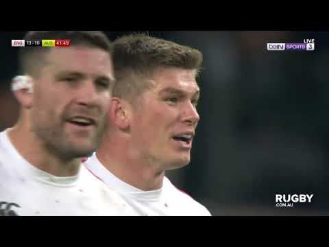 Owen Farrell's tackle on Izack Rodda