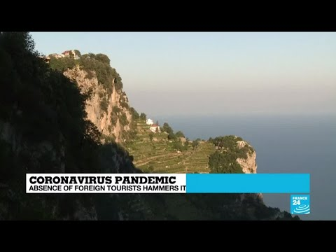 Absence of tourists hammers Italy's Amalfi coast