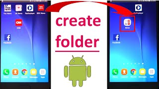 In this video, I'll show you how to create a new folder in android....