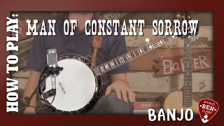 Man of Constant Sorrow- Banjo Lesson!