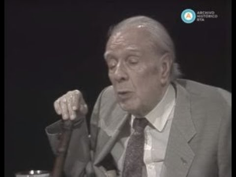 Ultima entrevista televisada a Jorge Luis Borges, 1985 (parte I)