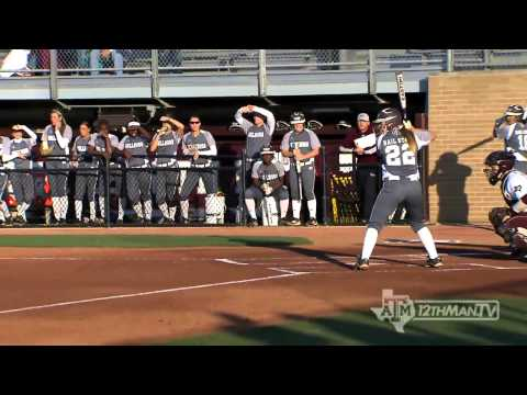 2013 Texas A&M Softball Highlight Video