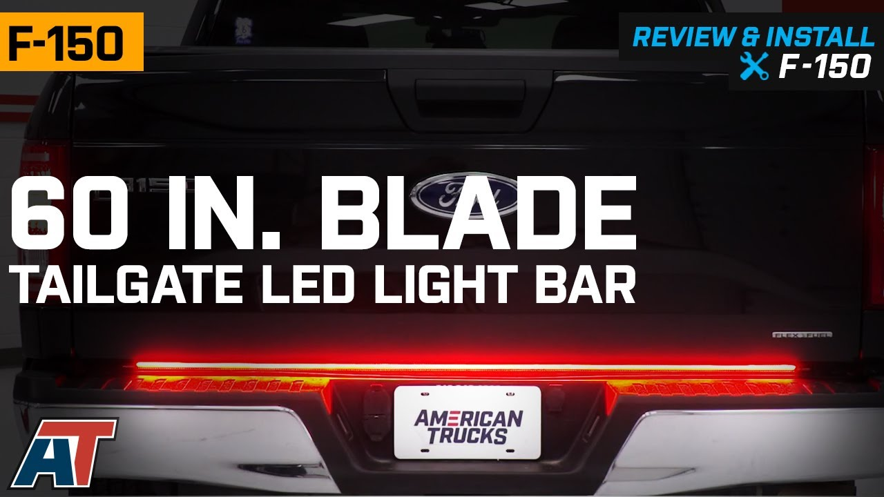 how to wire in a 7 blade ford f150 2010 f 150 60 in blade tailgate led light bar  97 14 f 150   blade tailgate led light bar