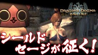 電撃PlayStation編集部による『ドラゴンズドグマ オンライン』のプレイ動画です。 今回は、シールドセージで新たに追加されたモンスター討伐に赴...