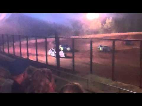 Sabine motor speedway Modified heat race