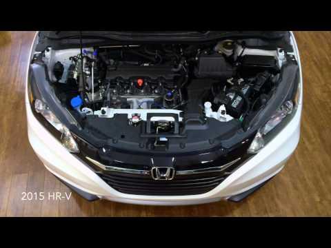 HR-V vs. CR-V engine specs.
