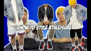 HOW TO STYLE ATHLEISURE! thumbnail