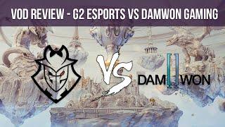 VOD REVIEW | G2 ESPORTS VS DAMWON GAMING - Worlds '19 - Mapa 1