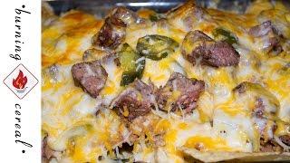 Cinco De Mayo Carne Asada Nachos - Recipe