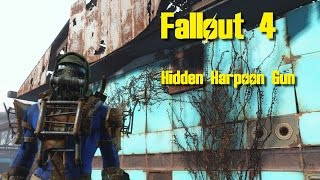 Fallout 4 - Hidden/Secret Harpoon Gun