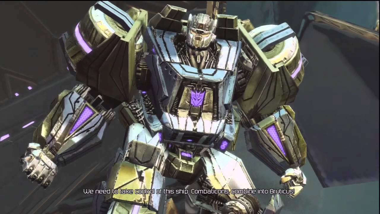 combaticons combine bruticus hd youtube
