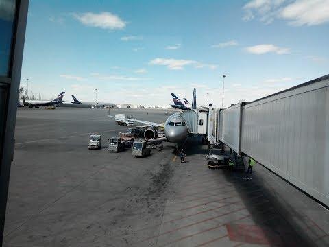 Перелет SU 1421 Челябинск - Москва