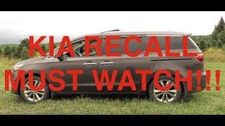 2015 to 2018 Kia Sedona Recall Review Part 1 What You Need To Know!!!