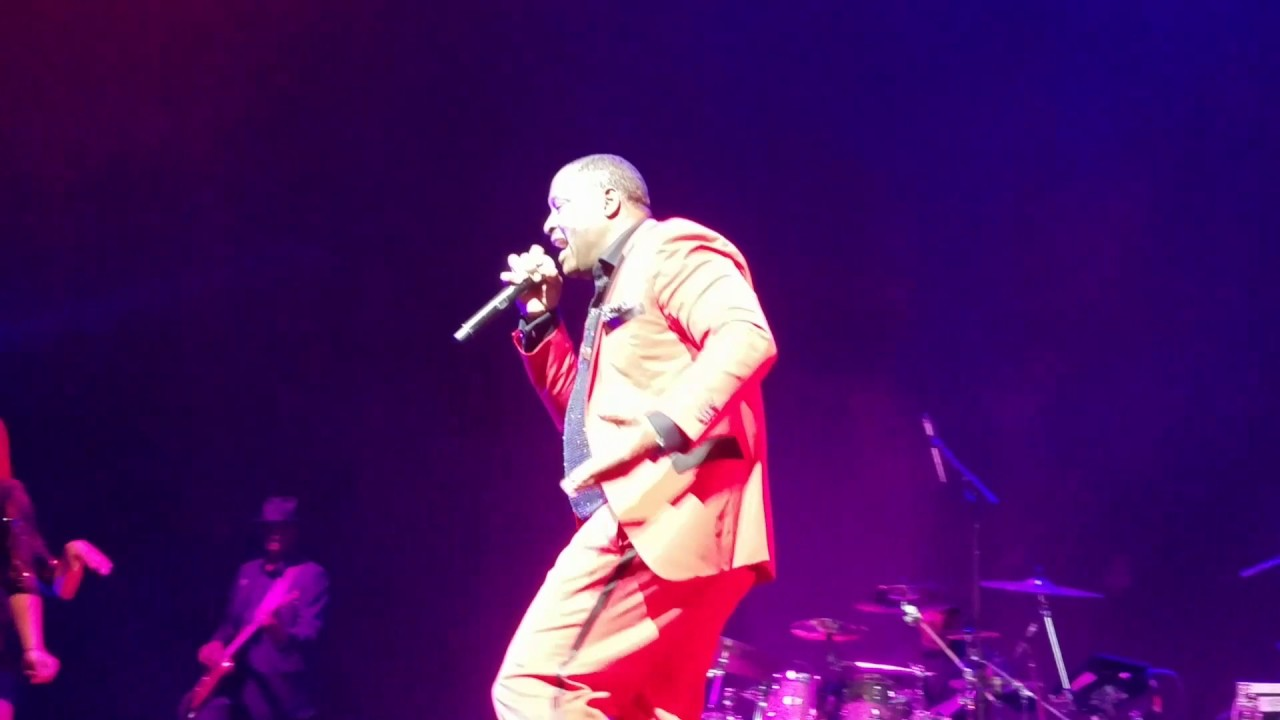 your body johnny gill in it to win it tour youtube