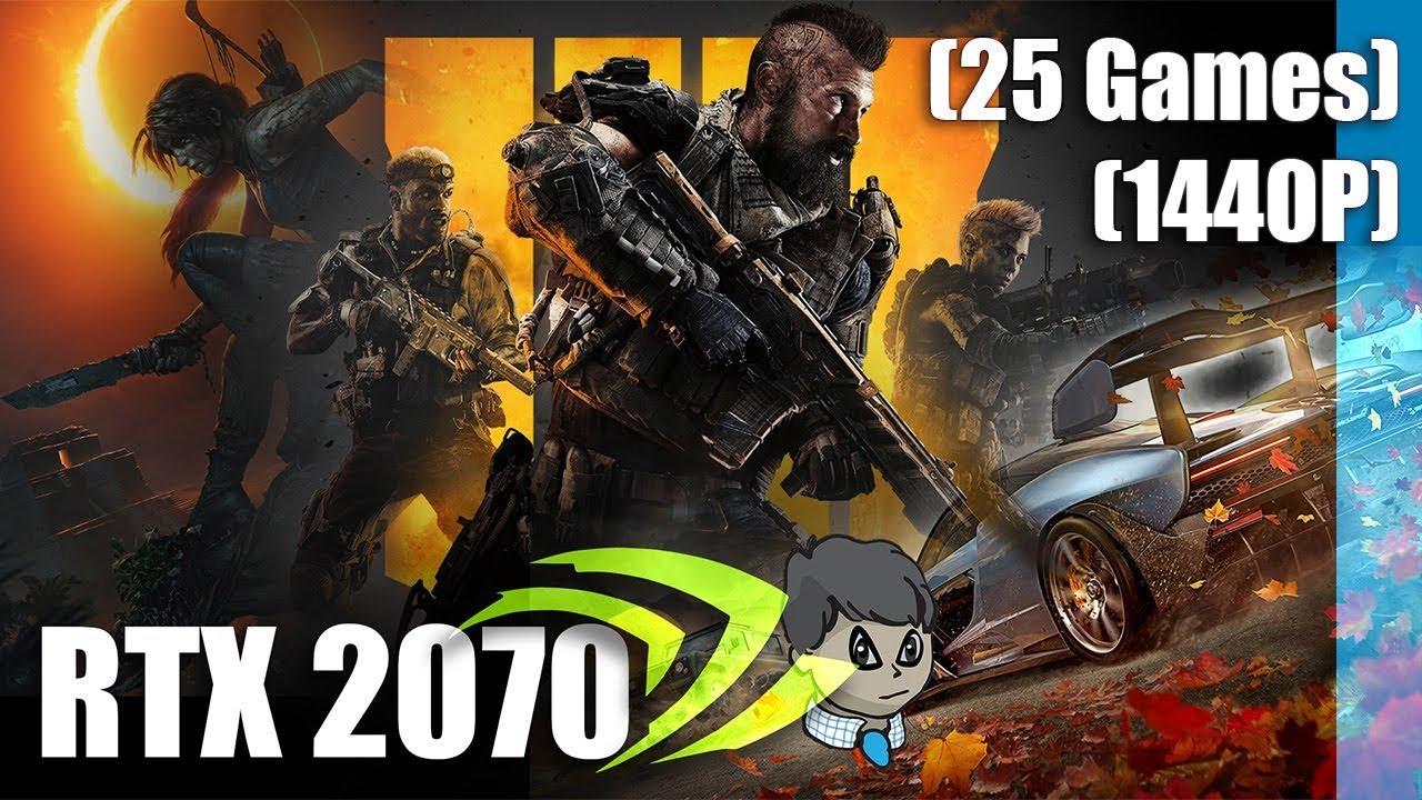 RTX 2070 Gaming \ 25 Games in 1440P \