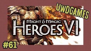 Прохождение Heroes VI, часть 61 (Кампания Инферно, сценарий 4-4, Невидимая библиотека)