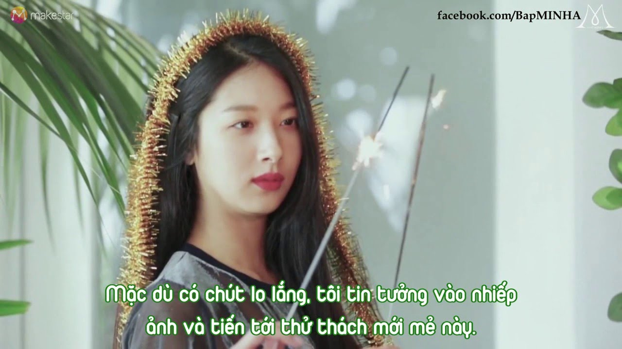 [VIETSUB] '9muses' The Color of 8 Photobook MINHA's story