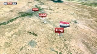 البشمركة تطوق بعشيقة شرق الموصل