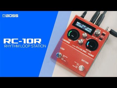 BOSS RC-10R Rhythm Loop Station - Performance by Jay Leonard J