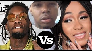Cardi B DUMPS Offset of Migos Because Her Boyfriend Tommy Geez is Finally Home