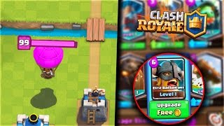 NEW INVINCIBLE BALLOON GLITCH & UPGRADE CARDS For FREE BUG!! Clash Royale BEST Bugs & Glitches!