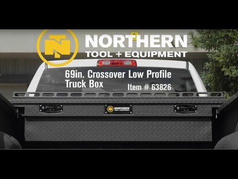 Northern Tool + Equipment Crossover Low Profile Truck Tool Boxes