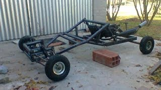Mini buggy casero.